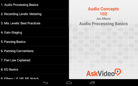 Audio Processing Basics screenshot 1