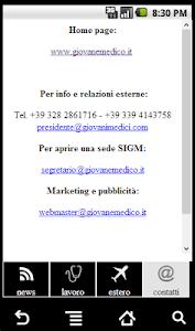 SIGM - Giovani Medici screenshot 3