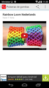 Rubber bands bracelets screenshot 2
