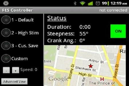 FES Cycling Controller screenshot 1