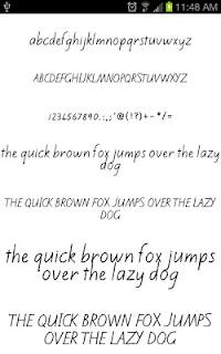 Write Fonts for FlipFont free screenshot 02