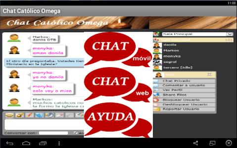 Chat Católico Omega screenshot 2