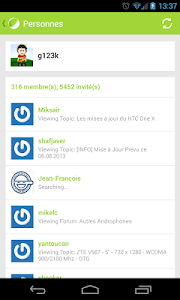 Forum FrAndroid (beta) screenshot 5