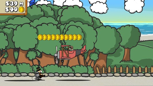 Dr. Gentleman's Jetpack Run screenshot 16
