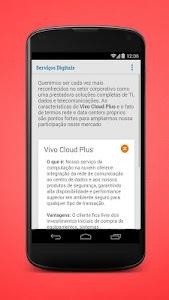 Serviços Digitais da Vivo screenshot 2