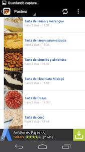 Recetas de cocina screenshot 2