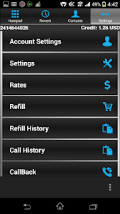 TeleGlobe Freedom VOIP screenshot 3
