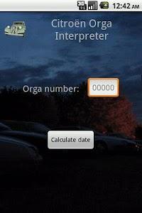 Citroen Orga Interpreter screenshot 0