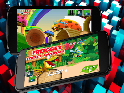Froggie's Forest Adventure! screenshot 13