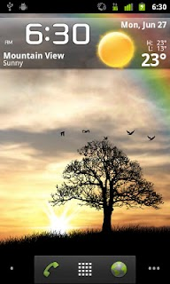 Sun Rise Free Live Wallpaper screenshot 02