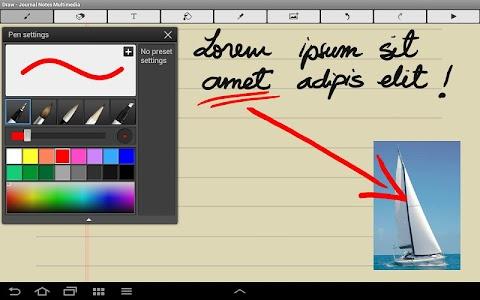 Journal Notes Multimedia screenshot 2