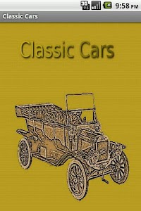Classic Cars screenshot 0