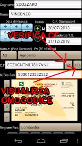 Tess. Sanitaria Codice Fiscale screenshot 0