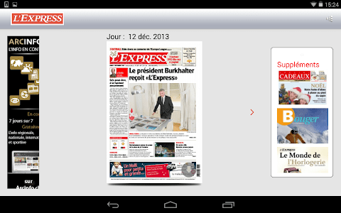 L'Express journal screenshot 11