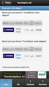 bensinpris.net screenshot 0