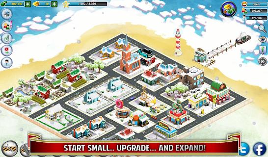 City Island: Winter Edition screenshot 05