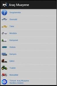 Araç Muayene screenshot 0