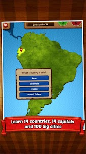 GeoFlight South America screenshot 11