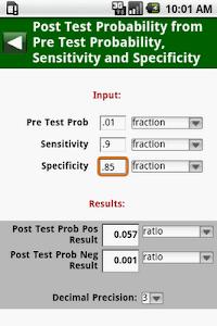 MedCalc 3000 EBM Stats screenshot 5