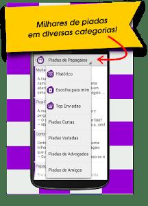 2000 Piadas Engraçadas Brasil screenshot 2