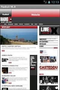 RadioX 96.8 screenshot 2