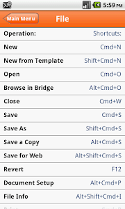Shortcuts for illustrator screenshot 3