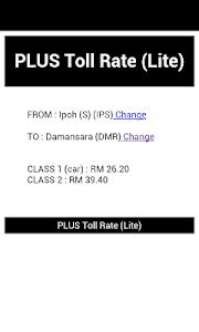 PLUS Highway Status & Rate screenshot 2