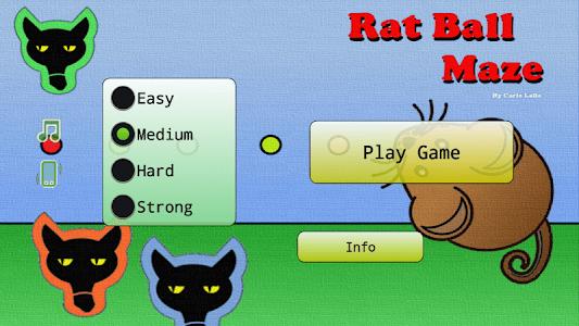 Rat Ball Maze screenshot 0