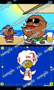 Daily Cartoon002 LWP & Clock screenshot 2