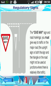 Driving  Rules & Traffic Signs screenshot 5