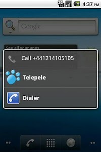 Telepele 1030 - old version screenshot 0