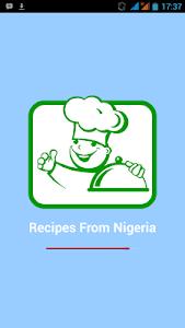 Recipes from Nigeria screenshot 1