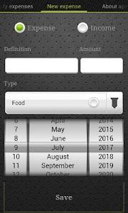 Expense Control + screenshot 1