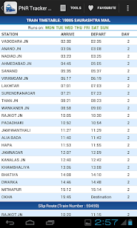 Indian Rail Guide screenshot 12