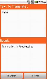 Hindi Translator screenshot 0