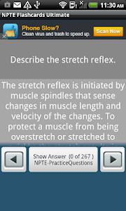 NPTE Flashcards Ultimate screenshot 2