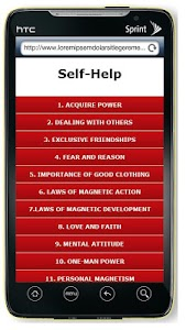 Self Help Book screenshot 0