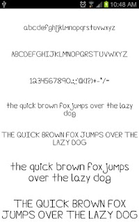 Fonts Hand for FlipFont® Free screenshot 04
