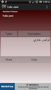 Tulis Jawi screenshot 1