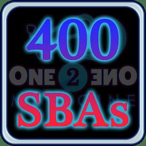 400 SBAs in Medicine + Surgery