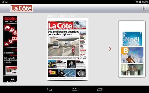 La Côte journal screenshot 12