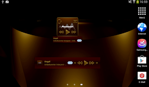 HAMOND Poweramp widget pack screenshot 9