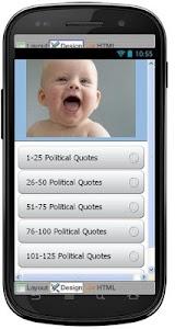 Best Political Quotes screenshot 0