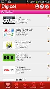 Digicel DigiINFO screenshot 2
