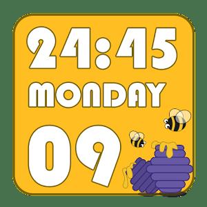 HoneyHoney Clock Widget