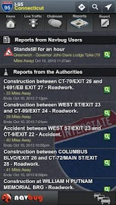 Navbug Traffic Reports screenshot 1
