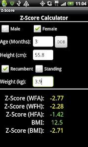 Z-Score screenshot 1