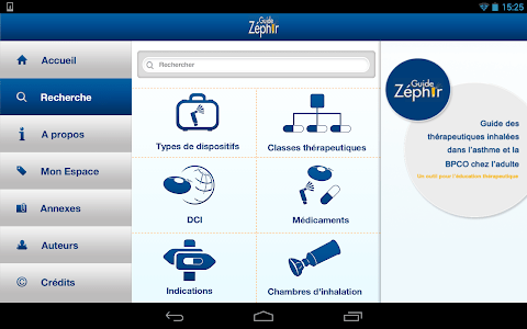 Guide Zéphir screenshot 8