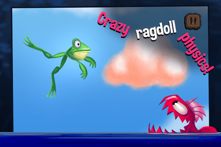 Frog Swing - Sticky Tongue screenshot 1