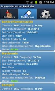 Medication Reminder screenshot 1
